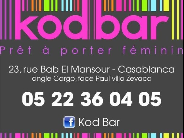 kod-bar à casablanca