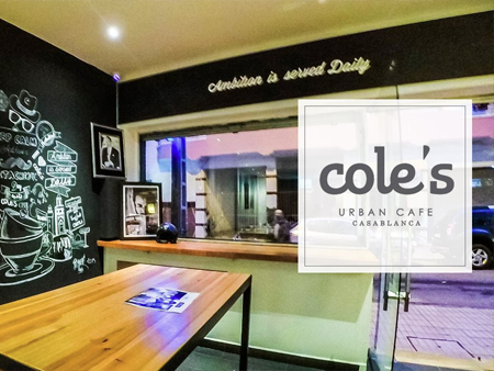 -cole-s-urban-cafe à casablanca